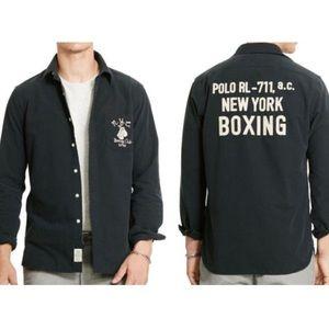 Polo by Ralph Lauren men's L boxing shirt NWT